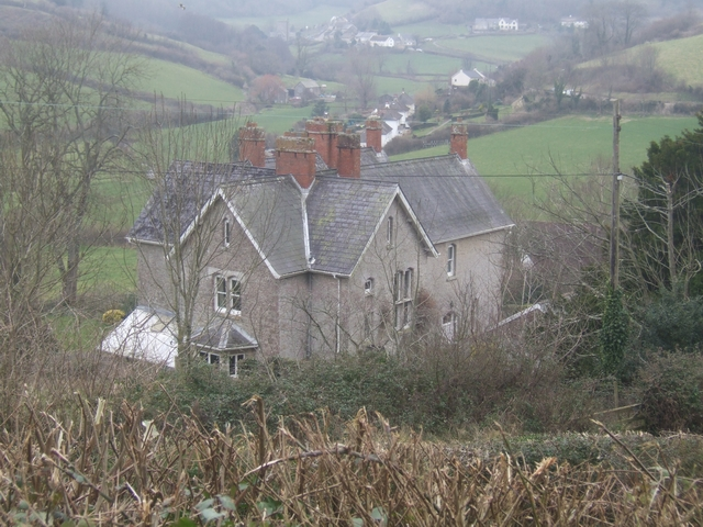 Old vicarage near Branscombe