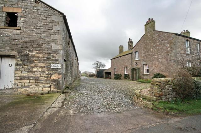 Entrance to Hillam Farm
