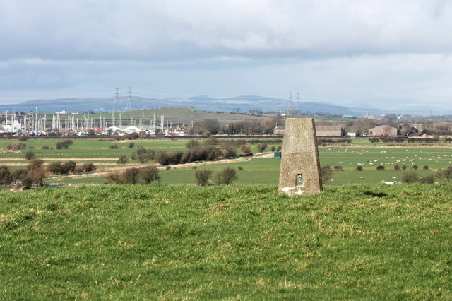 Trig Point Above Norbreck Farm