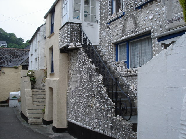 Polperro - the Shell House
