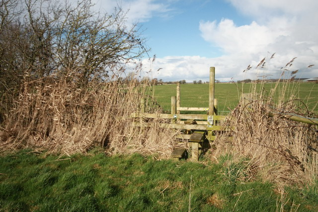 Stile at Footpath Junction