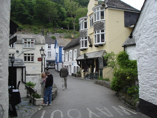 Polperro - street scene
