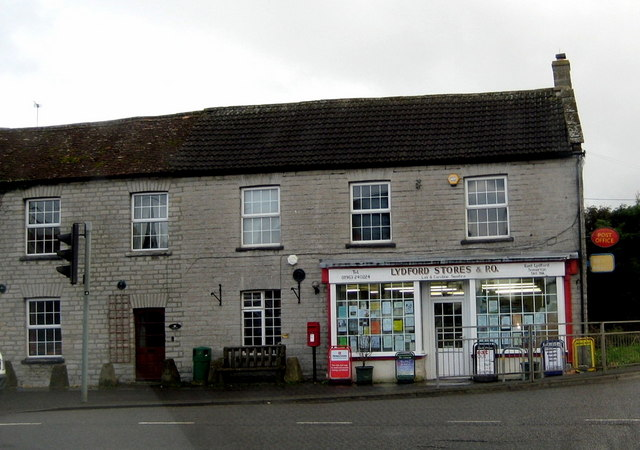 Village store and post office Lydford-on-Fosse