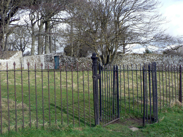 Kissing gate at Gileston.
