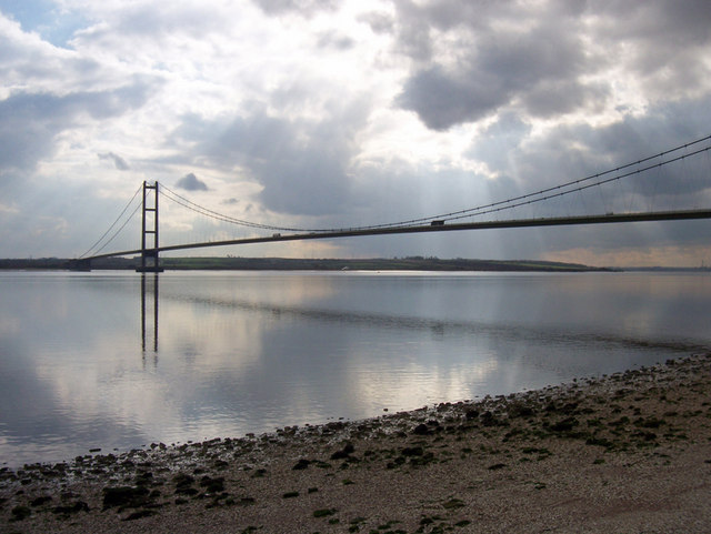Humber Bridge from the Hessle Foreshore