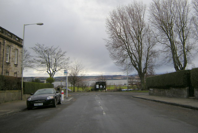 View of Fife and the River Tay from Windsor Street, Dundee