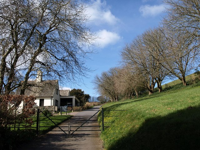 Entrance to Coleton Fishacre
