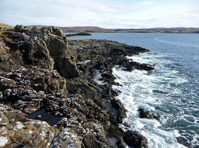Southern end of Roag Island