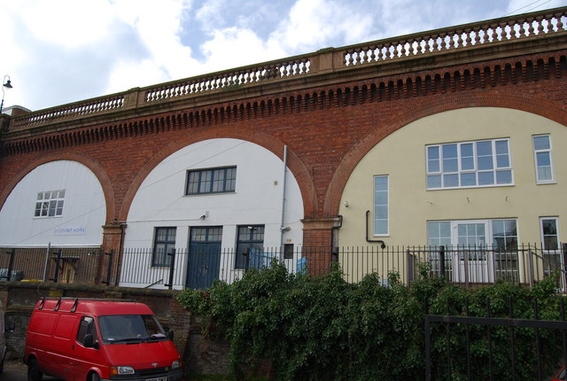Underneath the Arches, Linton Road Bridge