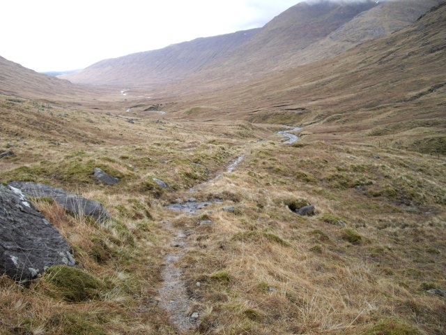 Stalker's path, Glen Kingie
