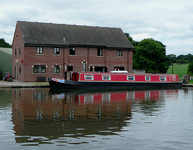 Teddesley Boat Yard, north of Penkridge, Staffordshire
