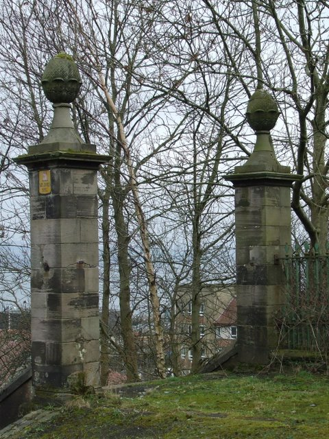 Old gate posts