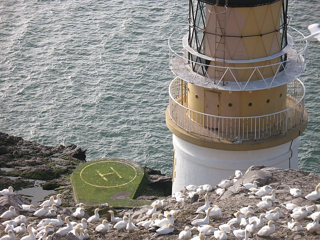 Helipad, Bass Rock