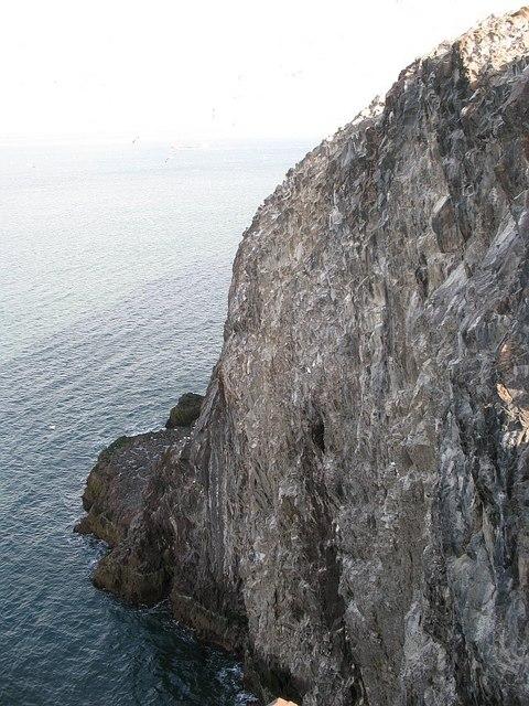 Western crags, Bass Rock