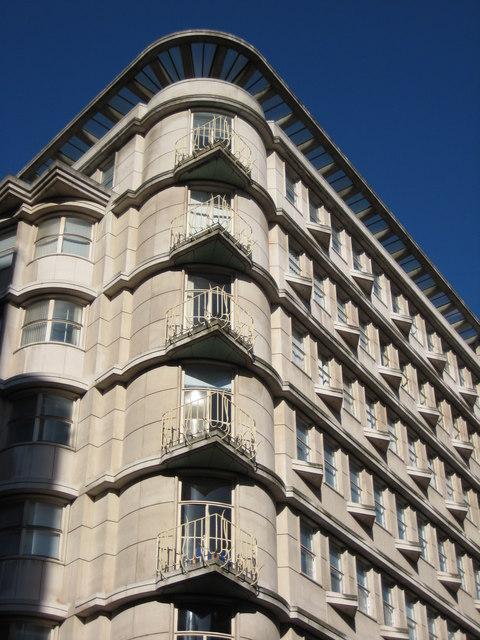 Building on New Street