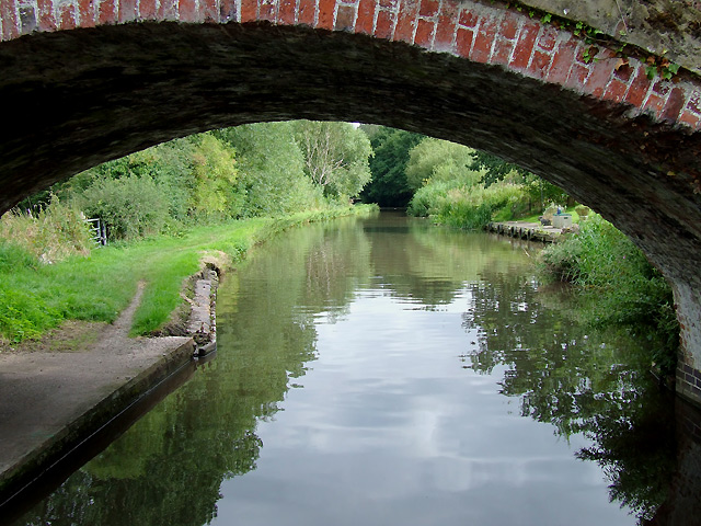Staffordshire and Worcestershire Canal east of Stafford
