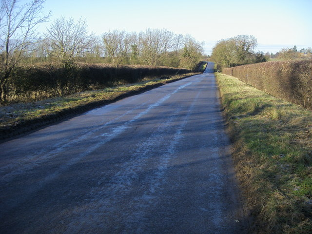 Road to Raunds
