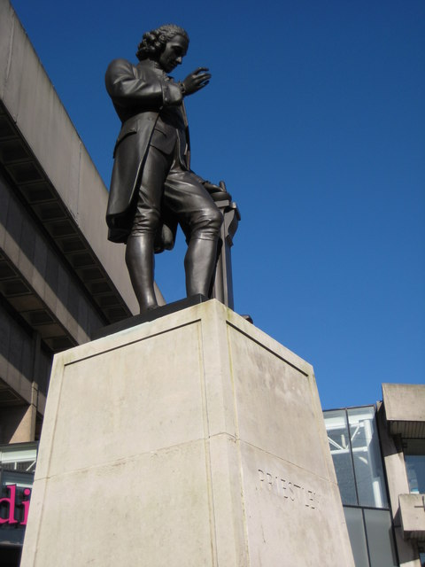 Statue of Joseph Priestley