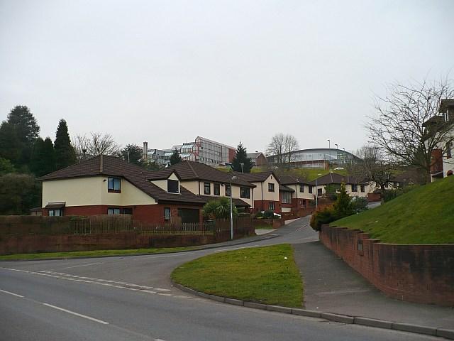 Brooklea and university buildings
