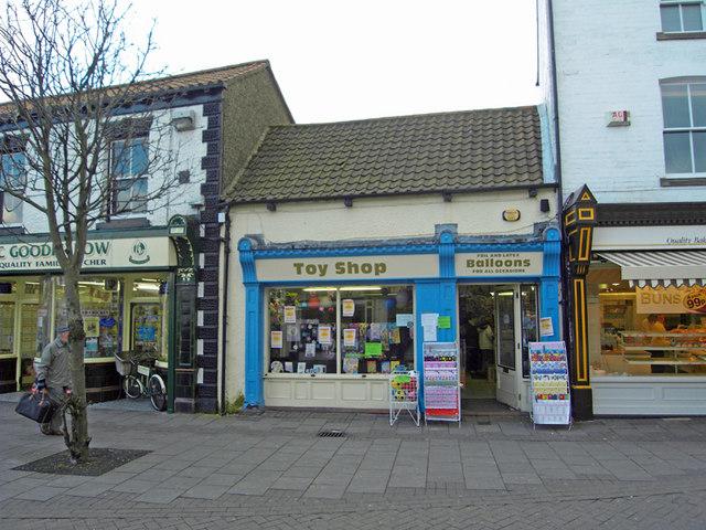 The Toy Shop, Prestongate, Hessle