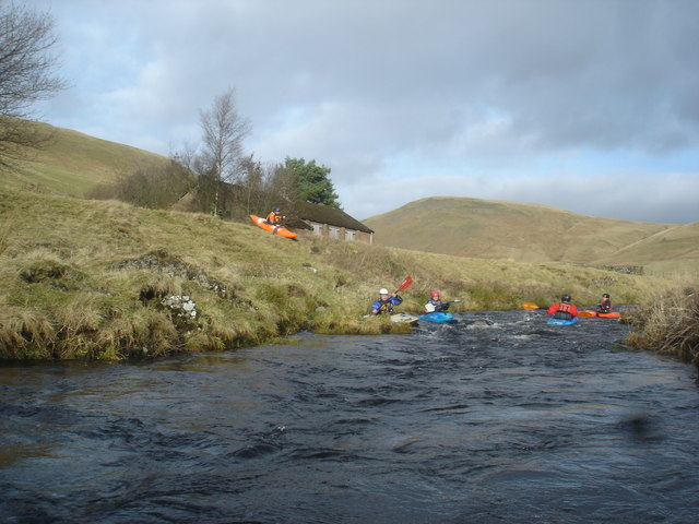 The put-in for the Upper Coquet
