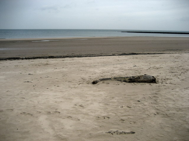 Beach on Druridge Bay and The Scars