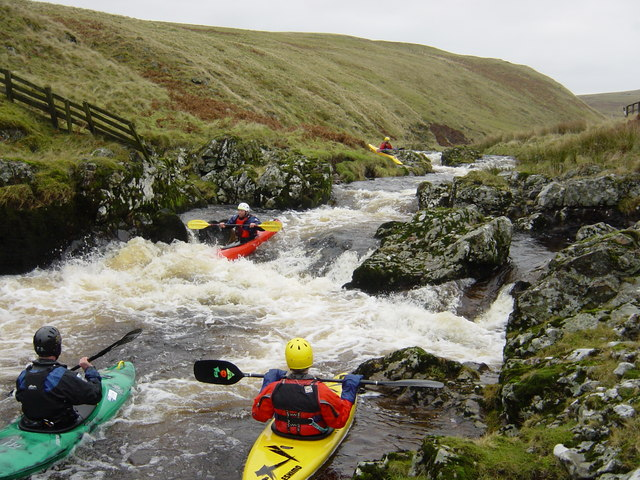First main rapid on the Upper Coquet