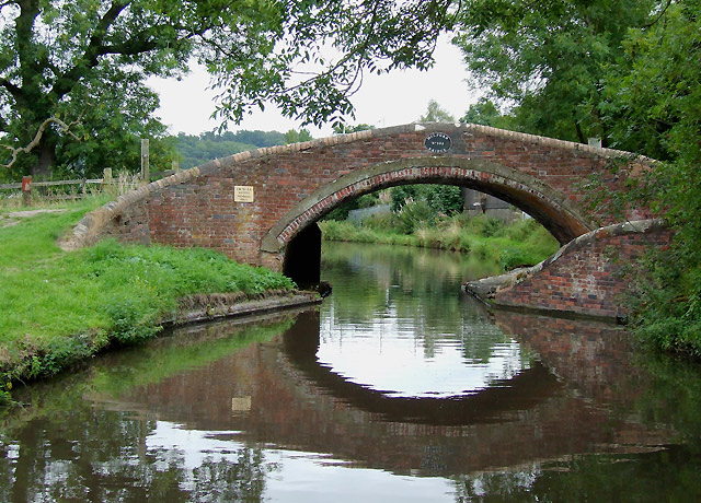 Milford Bridge on the Staffordshire and Worcestershire Canal