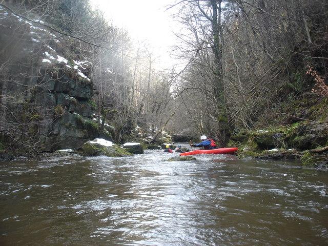 Upper Devils Water in low water