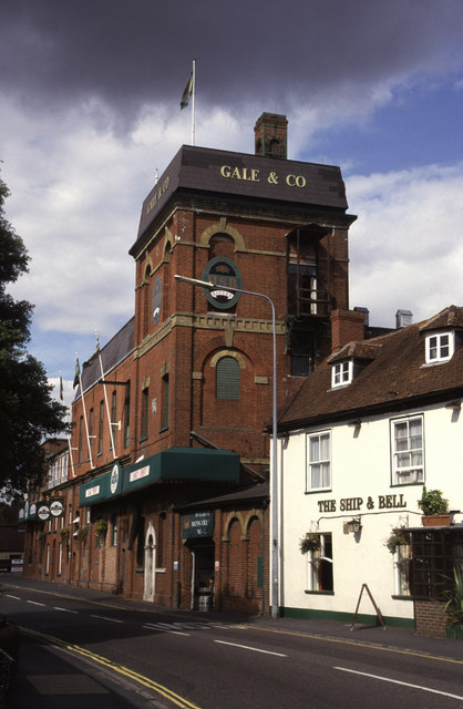 Gale & Co, Brewery, Horndean