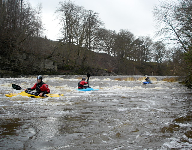 Redmire Force at high water