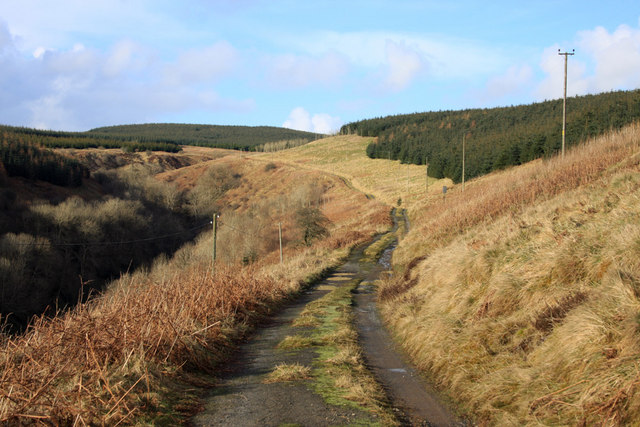 Track near Waterhead
