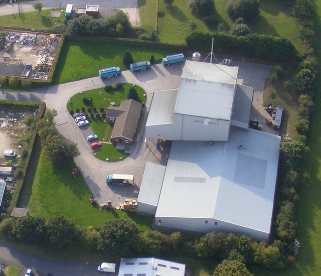 Feed Mill at Colomendy Industrial Estate, Denbigh
