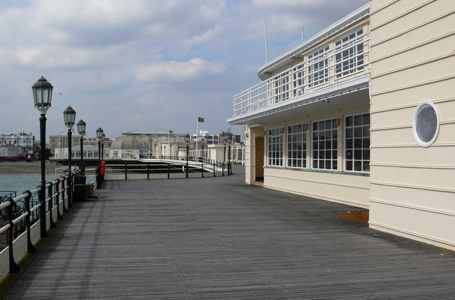 The end of Worthing Pier