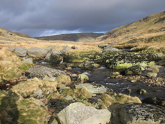 The southern Afon Hengwm