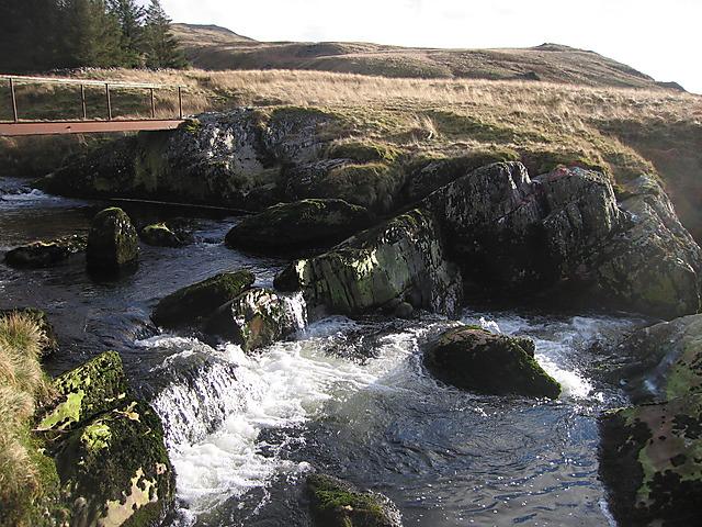 Rapids in the Afon Hengwm