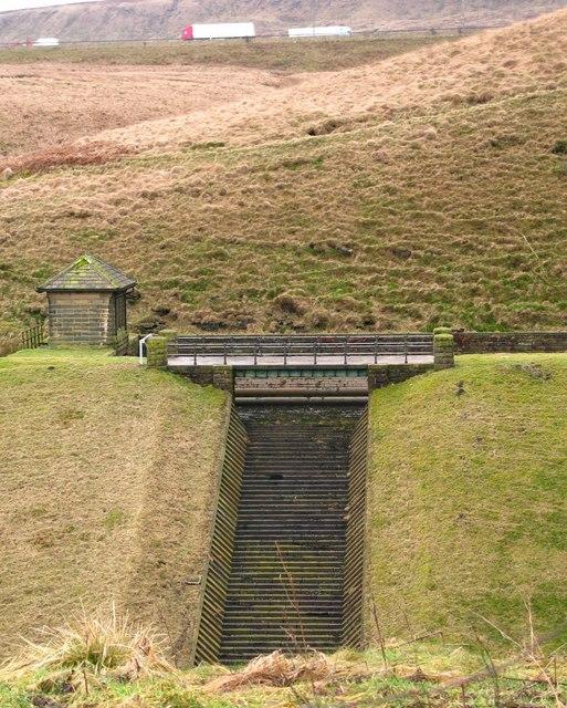 Spa Clough Reservoir