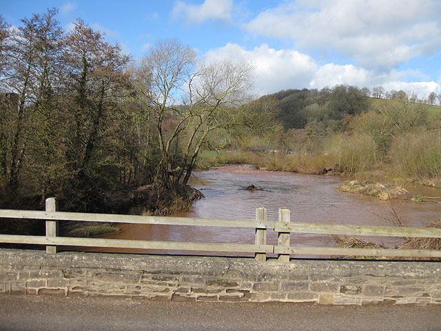 River Monnow upstream