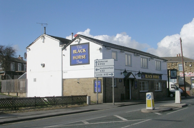 The Black Horse - White Lee Road