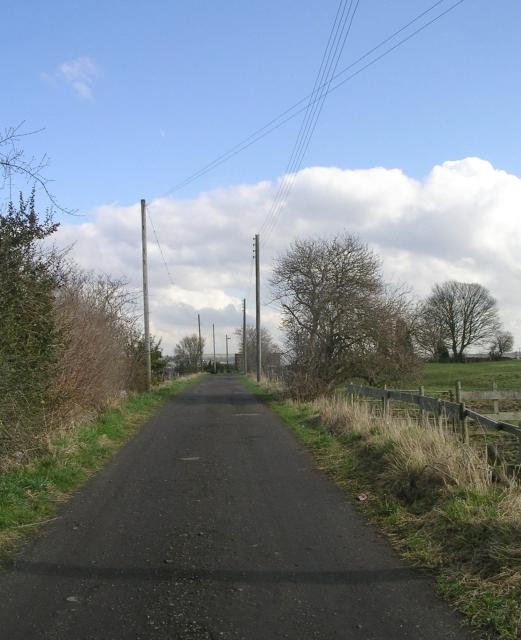 Footpath - White Lee Road