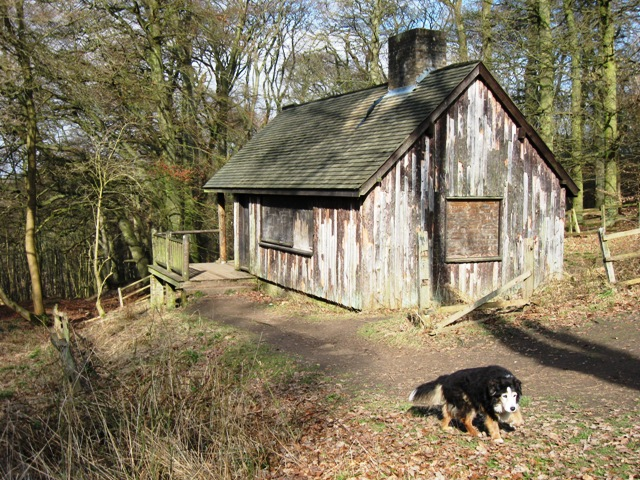 Old Hunting Lodge, Moneybury Hill
