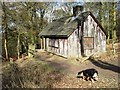 SP9713 : Old Hunting Lodge, Moneybury Hill by Chris Reynolds