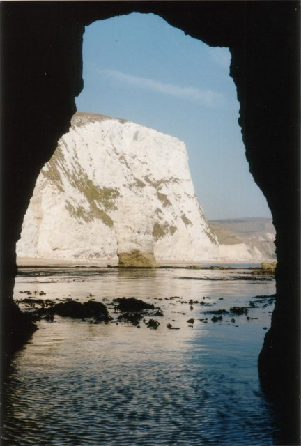 Butter Rock from Bat's Hole