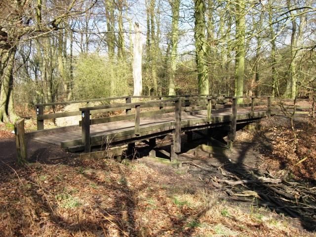 Bridge over the Holloway near Moneybury Hill, Ashridge