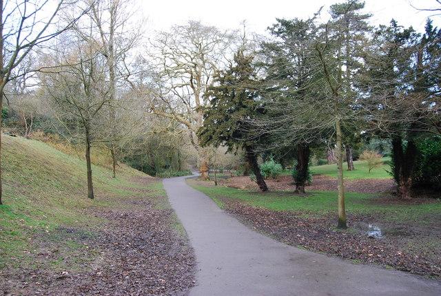 Path through Alexandra Park