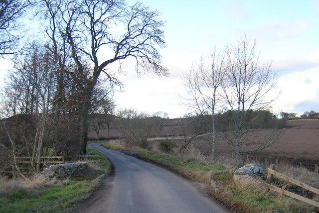 View of Bridge over Lochton Burn