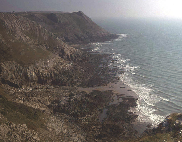 Cliffs south of Southdown