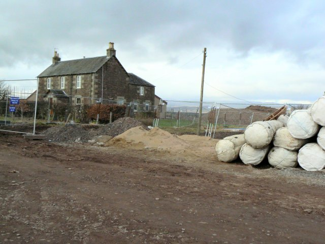 Easthill building site