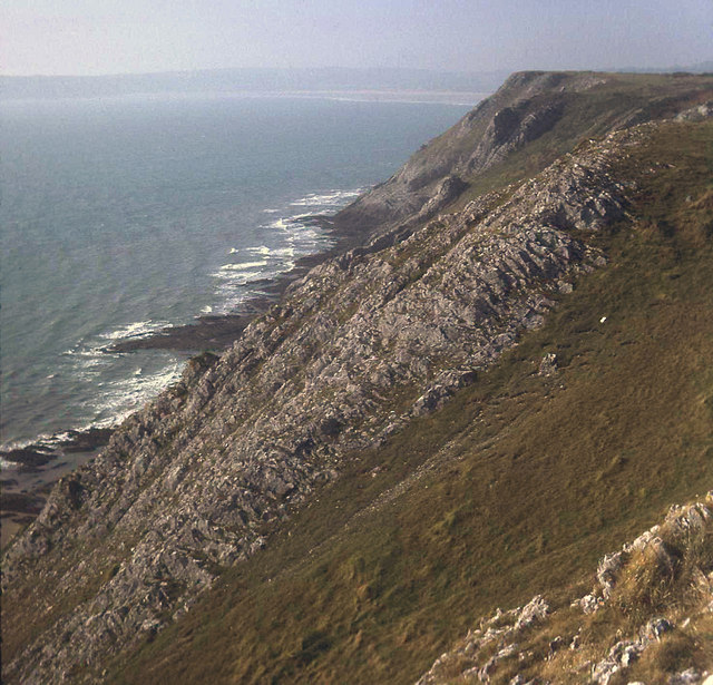 Cliffs east of Shire Combe