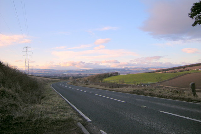View of Dundee / Coupar Angus Road looking northwest